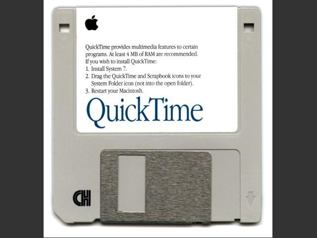 QuickTime 1.6.1 Installation floppy