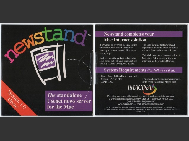 Front and back of CD jacket