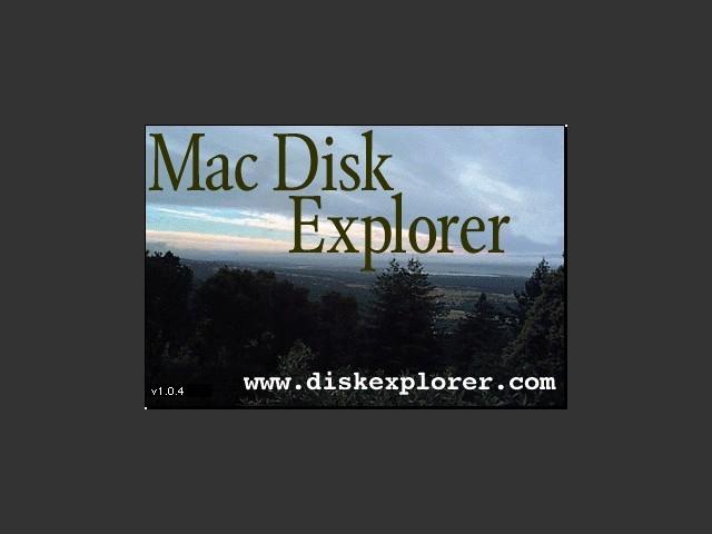 Mac Disk Explorer 1.0.4 (2000)