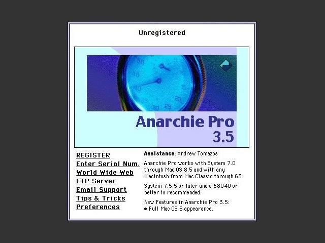 Anarchie Pro 3.x (1994)