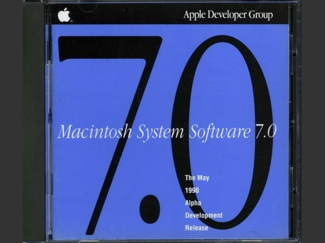 Mac OS 7.0a9 (May 1990) (1990)