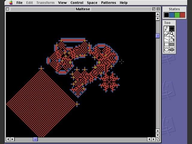 Life Maker simulation 1