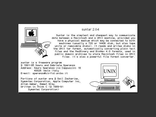 suntar 2.0.4 (1995)