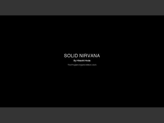 Solid Nirvana (1995)