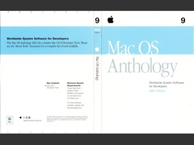 Mac OS Anthology (1999 + 2000 + 2001) - Macintosh Repository