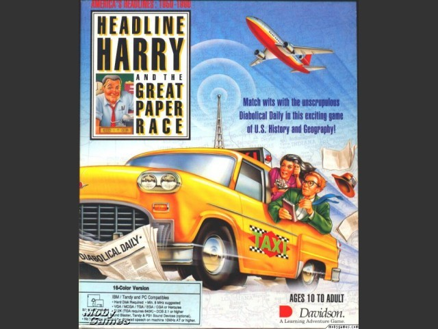 Headline Harry and the Great Paper Race (1991)