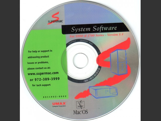 S- and J-Series Master CD Label