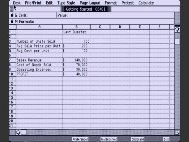 LisaCalc 3.0 (1984)