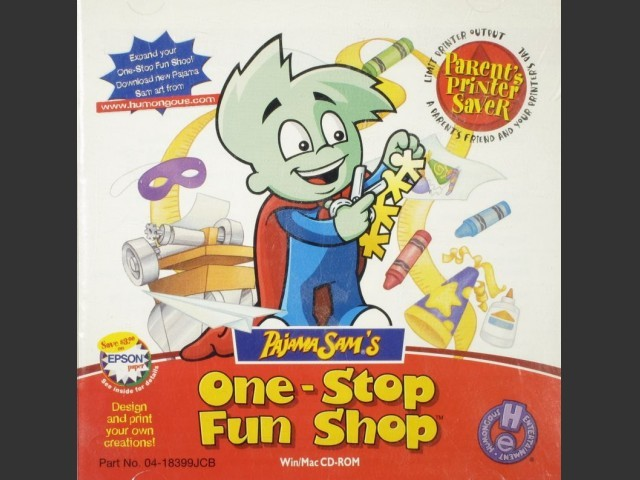Pajama Sam's One Stop Fun Shop (2000)