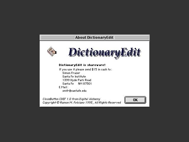 DictionaryEdit (1995)