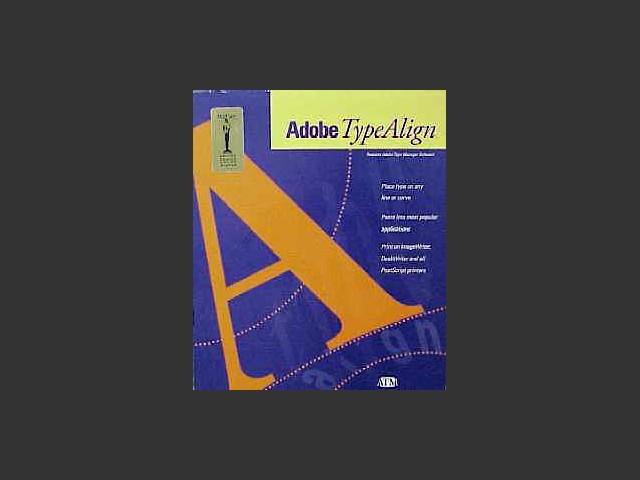 Adobe TypeAlign 1.0.5 (1992)