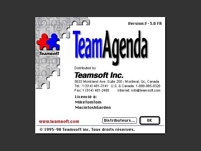 TeamAgenda 3.0 (French version) (1997)