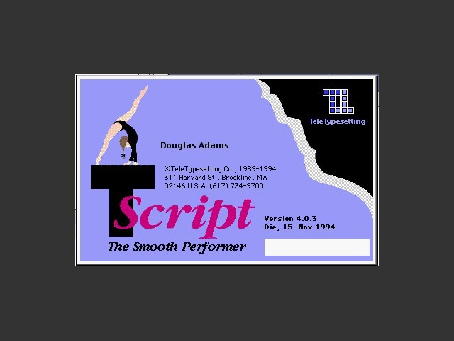 TScript 4.0.3d (1994)
