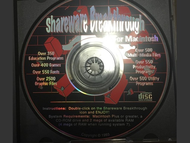 Shareware Breakthrough (1993)