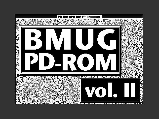 BMUG PD-ROM Volume II (1990)