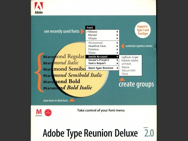 Adobe Type Reunion Deluxe 2 (1997)