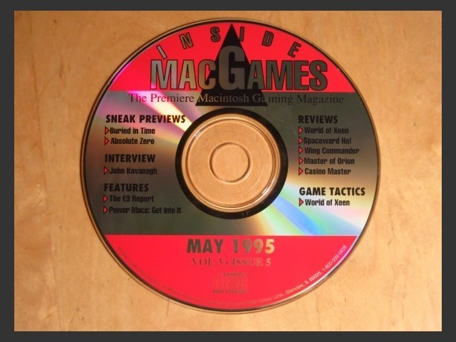 Inside Mac Games CD May 1995 (1995)