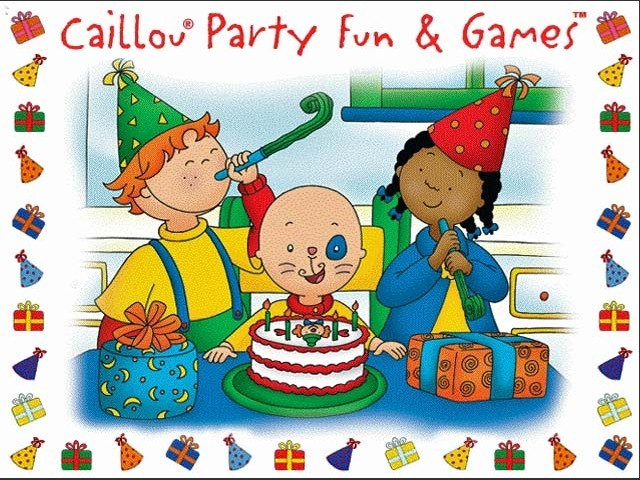 Caillou: Party Fun & Games (aka Birthday Party) (2002)