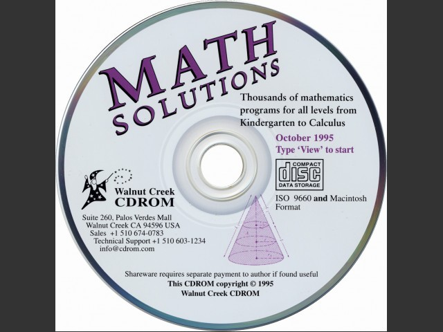 Math Solutions (1995)