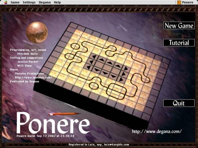Ponere 1.0 (2002)