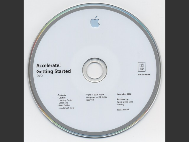 Accelerate! Getting Started DVD (November 2006) (2006)