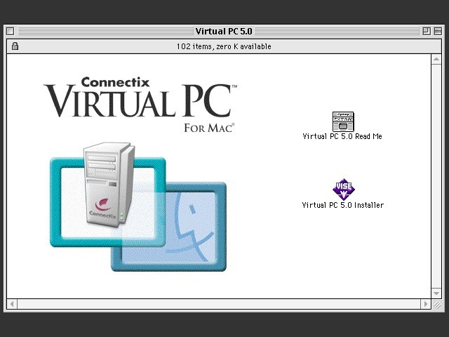 Connectix Virtual PC 5.x (2001)