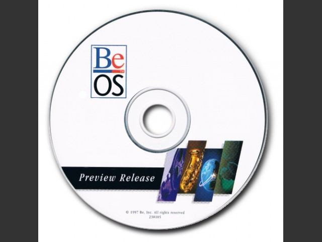 BeOS Preview Release 230105