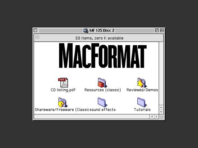 MacFormat 125 CD 2/2