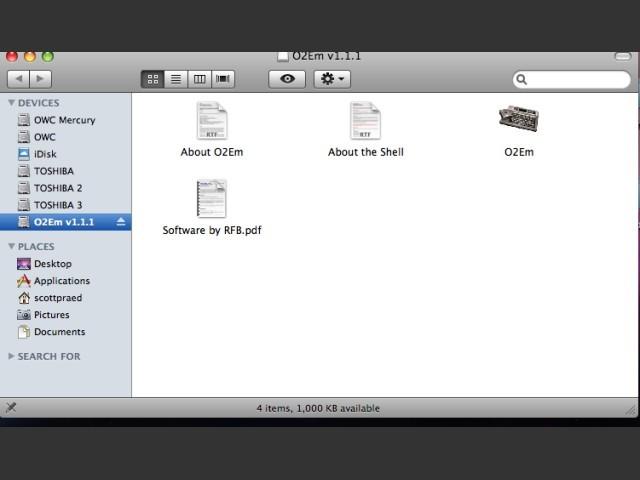 o2em - Odyssey 2/videopac G7000  Emulator (2008)