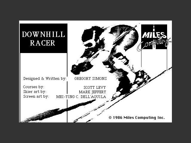 Downhill Racer (1986)