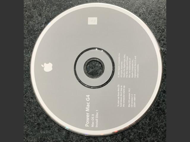 Power Mac G4. Mac OS X v10.2 Install 2002 (CD) (2002)