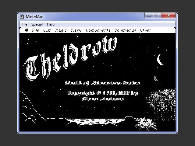 Theldrow v2.2 splash screen
