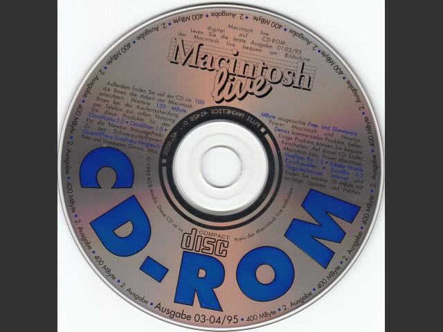 Macintosh live CD-ROM 03-04/95 (German) (1995)