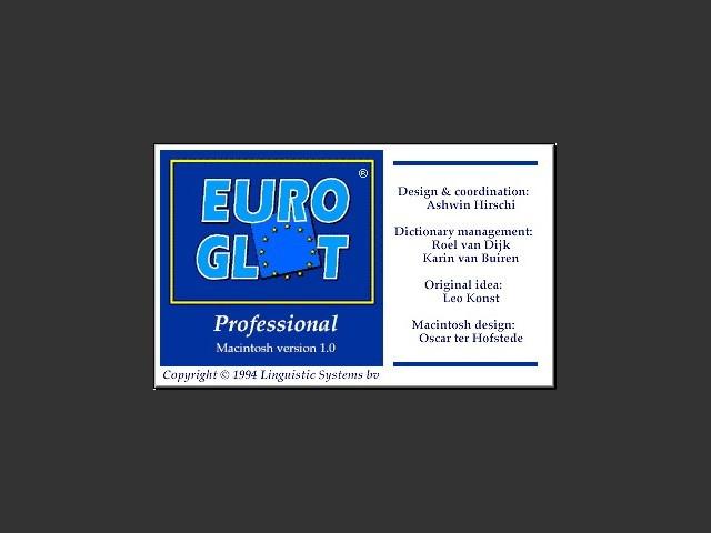 Euroglot Professional (1994)