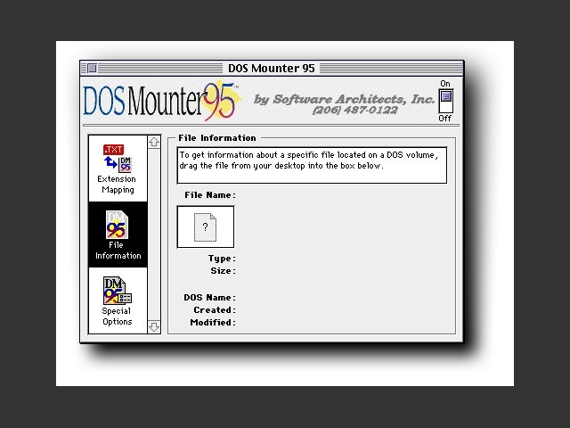 DOS Mounter 95 (1995)