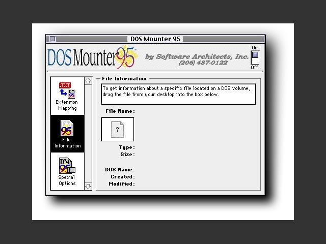 DOS Mounter 95 (1995)