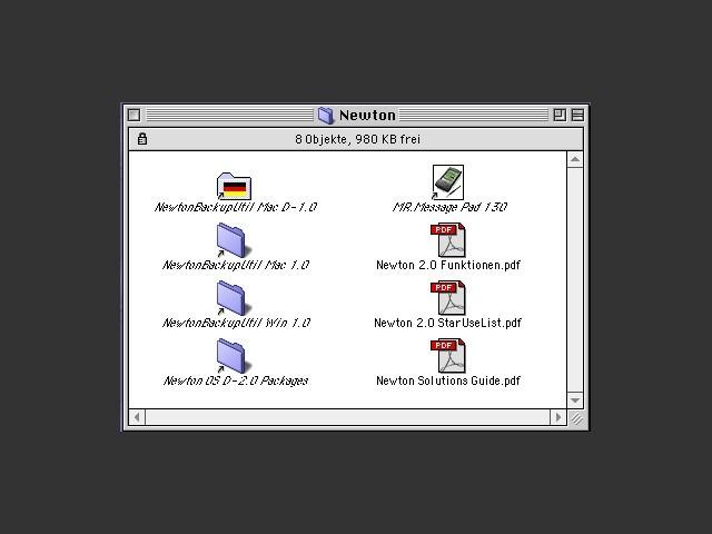 Apple Produktinfo CD 1996 (German) (1996)