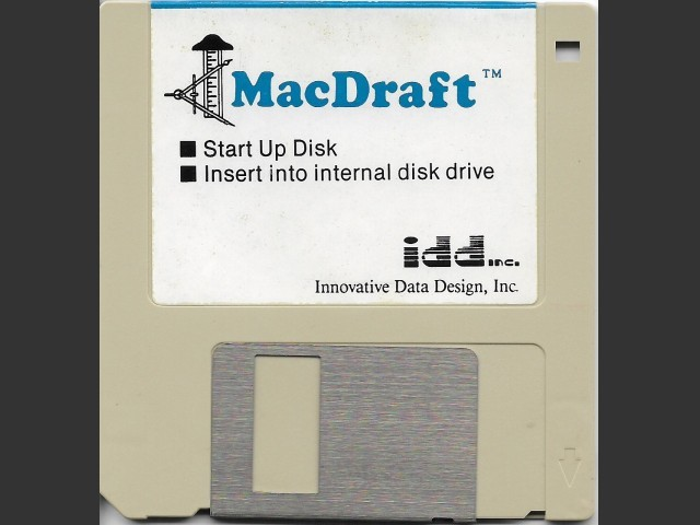 Mac Draft french version (1986)