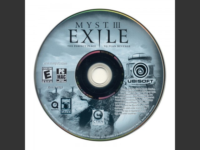 Myst III Exile Collector's Edition DVD (2003)