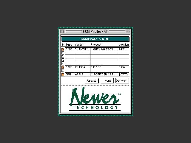SCSI Probe v3.5