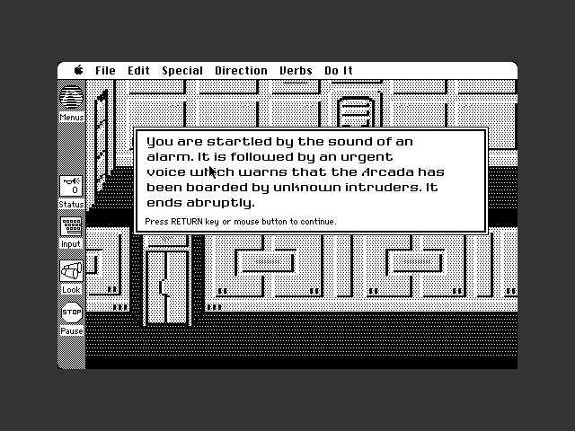 Space Quest I: The Sarien Encounter (B&W) (1987)
