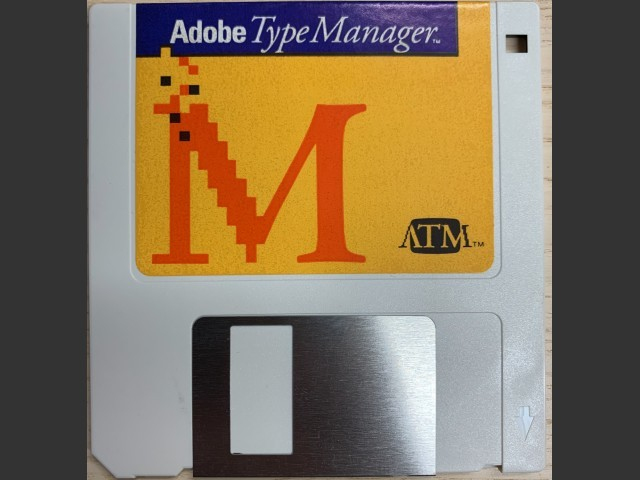 Adobe Type Manager (ATM) 1 and 2 (0)
