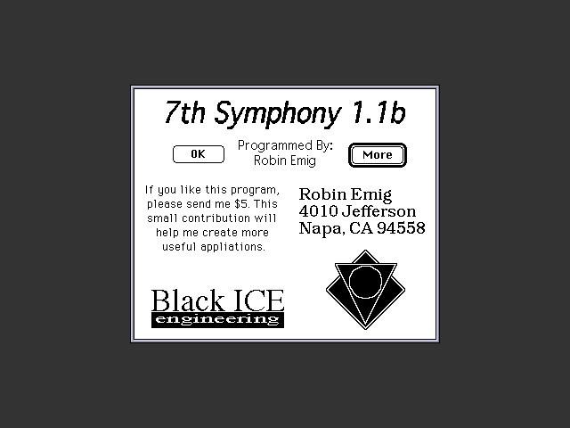 7th Symphony (1993)