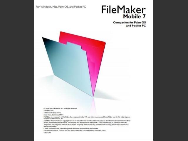 FileMaker Mobile 7 (2004)