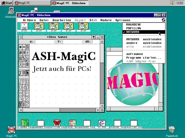 MagiC PC 1.x and 6.x (2000)