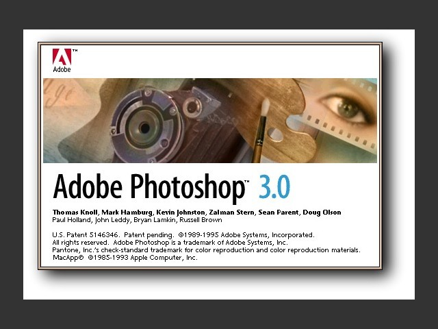 Adobe Photoshop 3.0 with 3.0.5 Update (1994)