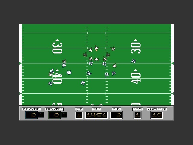 PlayMaker Football (1992)