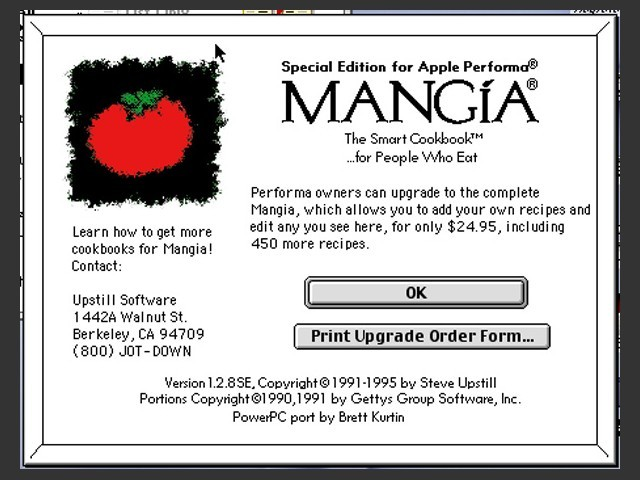 Mangia Special Edition (1995)