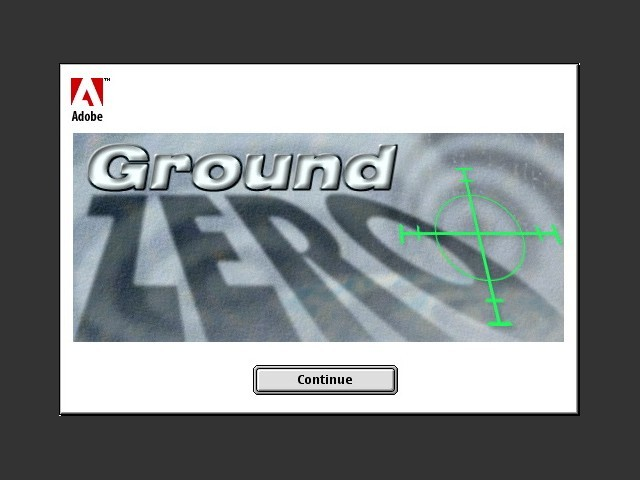 Adobe GroundZero 1.0 (Adobe Imagestyler) (1999)
