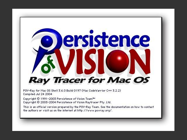 POV-Ray 3.x (2004)